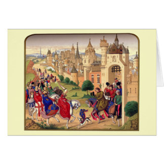 Medieval Themed Greeting Card