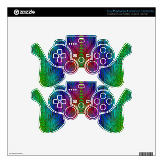 Medieval Time Warp Space Portal to Other World Decal For PS3 Controller
