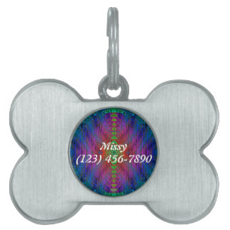 Medieval Time Warp Space Portal to Other World Pet Tag