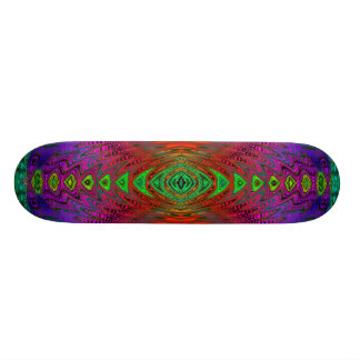 Medieval Time Warp Space Portal to Other World Skateboard