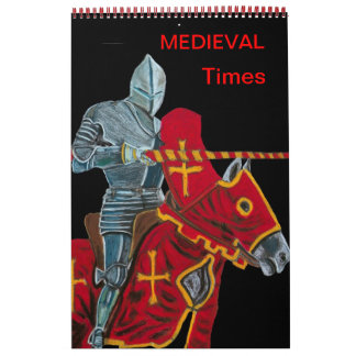 MEDIEVAL TIMES - CALLENDER CALENDAR