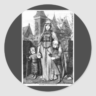 Medieval Times Classic Round Sticker