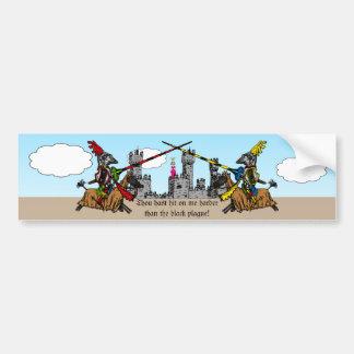 Medieval Times - Love Declaration Bumper Sticker