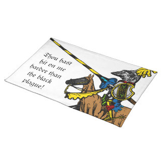 Medieval Times - Love Declaration Cloth Placemat