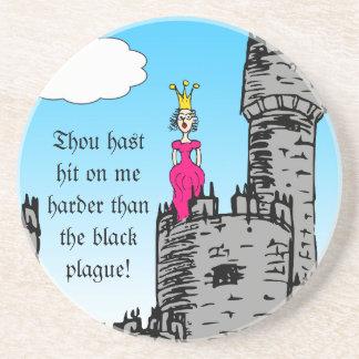 Medieval Times - Love Declaration Coaster