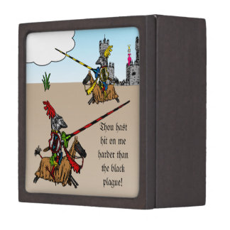 Medieval Times - Love Declaration Keepsake Box