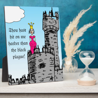 Medieval Times - Love Declaration Plaque