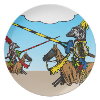Medieval Times - Love Declaration Plate
