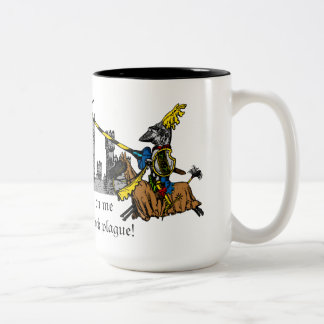 Medieval Times - Love Declaration Two-Tone Coffee Mug