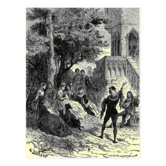 Medieval Times Postcard