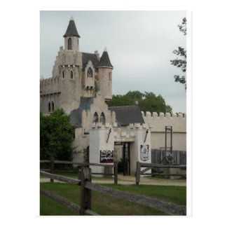Medieval Times Post Card