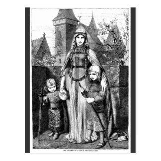 Medieval Times Postcards
