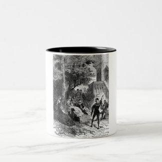 Medieval Times Two-Tone Coffee Mug