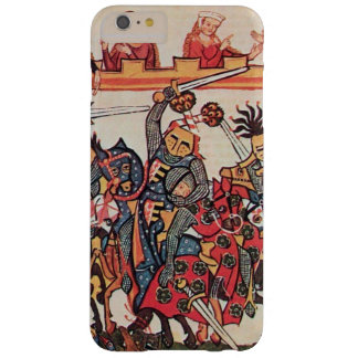 MEDIEVAL TOURNAMENT, FIGHTING KNIGHTS AND DAMSELS BARELY THERE iPhone 6 PLUS CASE