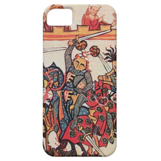 MEDIEVAL TOURNAMENT, FIGHTING KNIGHTS AND DAMSELS iPhone SE/5/5s CASE