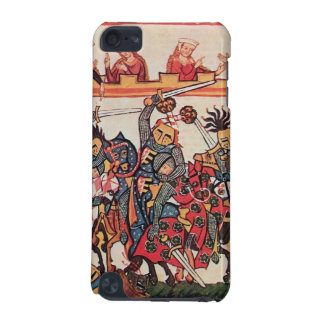 MEDIEVAL TOURNAMENT, FIGHTING KNIGHTS AND DAMSELS iPod TOUCH 5G COVER