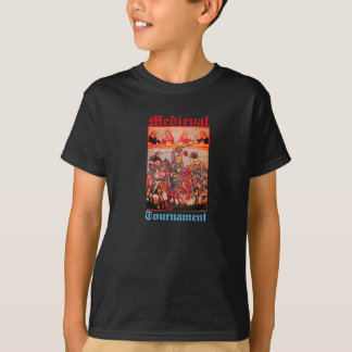 MEDIEVAL TOURNAMENT, FIGHTING KNIGHTS AND DAMSELS T-Shirt