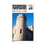 Medieval Tower Postage