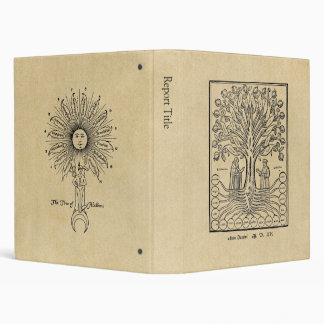 Medieval Tree of the Sciences 3 Ring Binder
