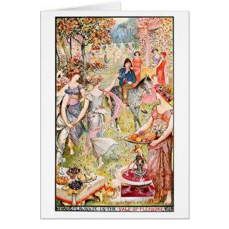 Medieval Vale of Pleasure Card