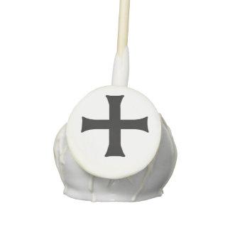 Medieval Vampire Cross Halloween Cake Pops