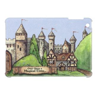 Medieval Village Design iPad Mini Cases