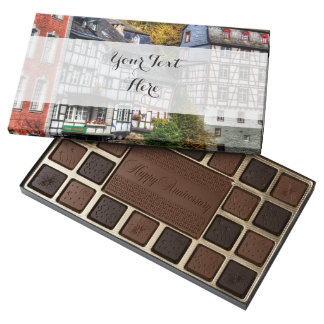Medieval Village Monschau in Germany Assorted Chocolates