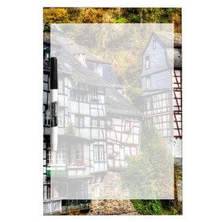 Medieval Village Monschau in Germany Dry Erase Board