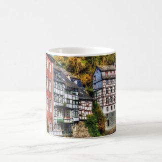 Medieval Village Monschau in Germany Classic White Coffee Mug