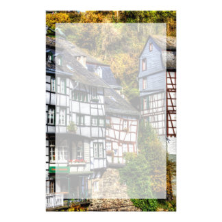 Medieval Village Monschau in Germany Personalized Stationery