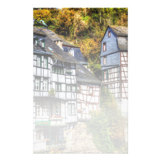 Medieval Village Monschau in Germany Stationery