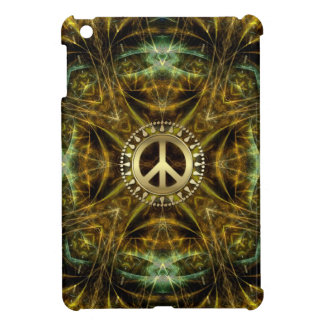 Medieval Visions Golden Peace Sign iPad Mini Case