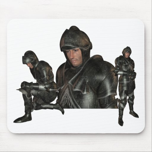 Medieval Warrior Mouse Pad