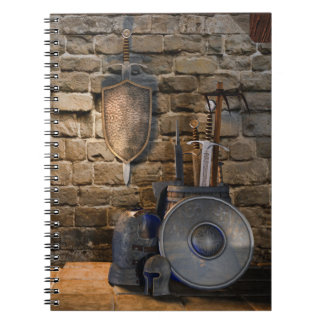 Medieval Weaponry Notebook