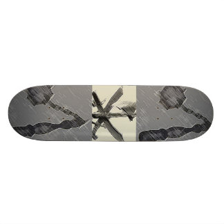 MEDIEVAL WEAPONS SKATEBOARD
