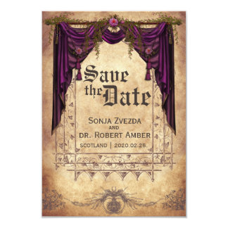 medieval wedding save the date invitation - Medieval Wedding Invitations