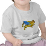 Medieval Winged Lion Gryphon T-shirt