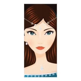 Medieval Woman Rack Card