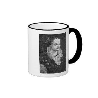 Medieval Woman Ringer Mug