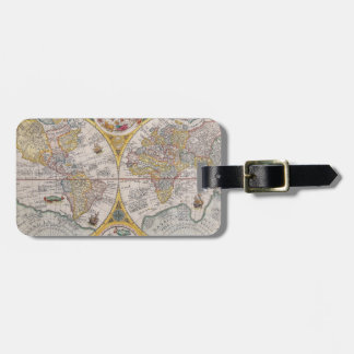 Medieval World Map From 1525 Tags For Bags