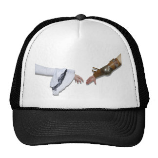MedievalGraspHands062710Shadows Trucker Hat