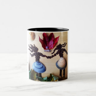 Medilludesign - Love rituals Two-Tone Coffee Mug