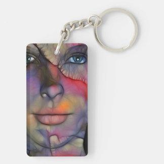 Medina / Face Composing Keychain