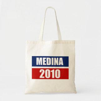 MEDINA FOR GOVERNOR CANVAS BAGS
