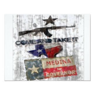 Medina For Governor Card