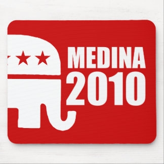 MEDINA FOR GOVERNOR MOUSE PADS