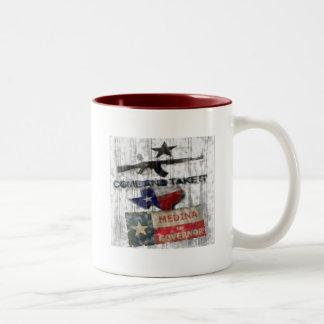 Medina For Governor Two-Tone Coffee Mug