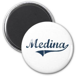 Medina New York Classic Design 2 Inch Round Magnet