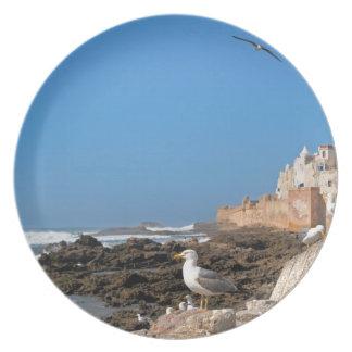 Medina of Essaouira and the Atlantic coast Party Plate
