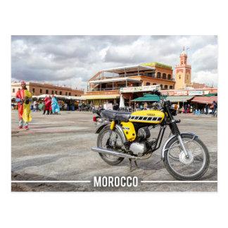 Medina of Marrakesh - Jemaa El Fnaa, Morocco Postcard